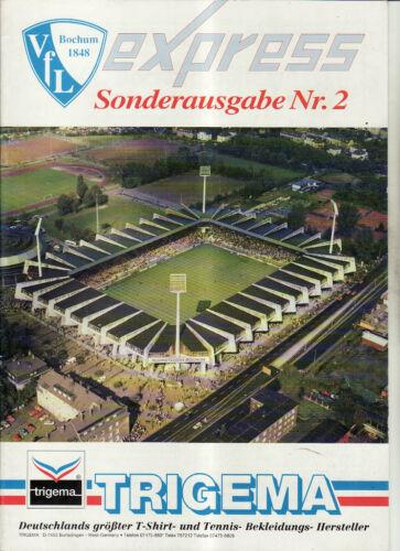 BL 91//92 VfL Bochum Vorschau Saison Sonderausgabe 2