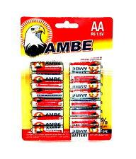 32 x Ambe R6 1.5V MIGNON AA BATTERIEN LR6 R6P Batterie Carbon Tv Video Spielzeug