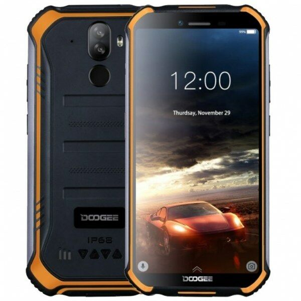 DOOGEE S40 Rugged SmartPhone 3GB 32GB IP68 IP69K Android 9.0 Pie NFC 4650mAh