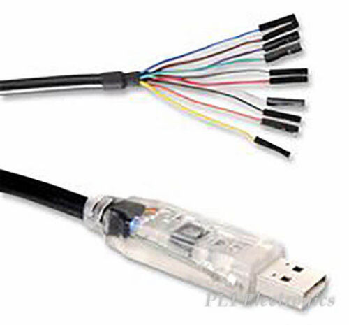 180cm Ftdi c232hd-ddhsp-0 Cable usb//uart 0,25 A//3.3 v O//p
