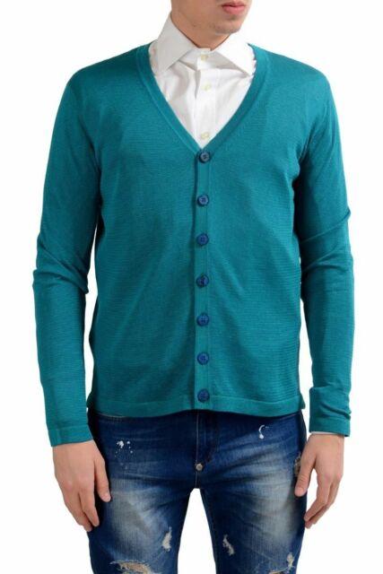 Malo Men/'s Cashmere Silk Full Zip Sweater Size S M XL
