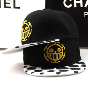 Anime One Piece Trafalgar Law Sign Skull Head Baseball Cap Sunhat ... 33742ceb948a