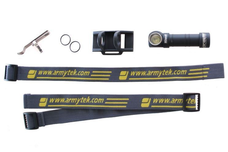 Armytek Wizard Pro v3 XHP50 (Warm) Rechargeable w/18650 Headlamp w/18650 Rechargeable +Bike Mount 309c43
