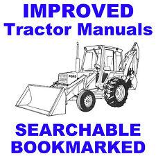 ford 550 555 tractor loader backhoe shop service manual parts rh ebay com ford 550 backhoe service manual free download ford 550 and 555 tractor backhoe loader service manual