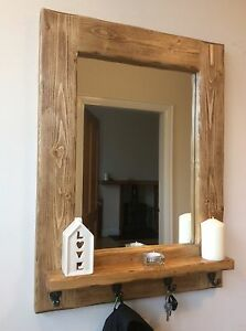 Image Is Loading Beautiful Quality Handmade Rustic Style Wooden Mirror With