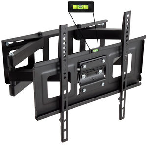 TV-plasma-LCD-soporte-de-pared-inclinable-orientable-basculante-LED-3d-32-55-pulgadas