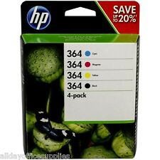 Original 4 Colour HP 364 Ink Cartridge Multipack For D7560 N9J73AE £15 CASHBACK*