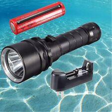 Elfeland Underwater 100M 10000LM T6 LED Diving Flashlight Waterproof Torch Lamp