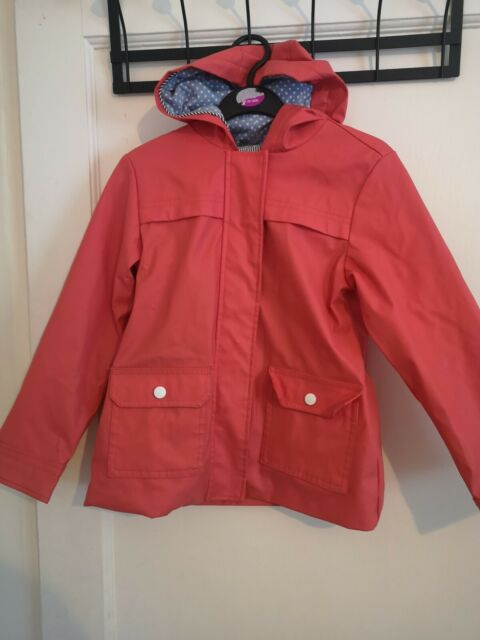 Kids Shower Proof Raincoat Cagoule Jacket Comes In a Bag Children /& Adult Sizes