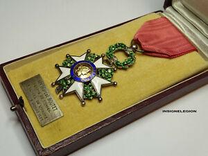 Ordre-de-la-LEGION-d-039-HONNEUR-Chevalier-IV-Republique-ARGENT