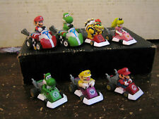 "7 RARE HTF COLLECTABLE SUPER MARIO YOSHI PRINCESS RACING ETC.. LOT"" SOLD AS IS """
