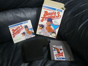 Bases Loaded 3 Ryne Sandberg Nintendo NES Game