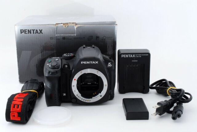 PENTAX K-30 16.3MP Digital SLR Camera Black Body from Japan[English setting]