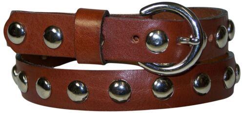 Cintura 2 con Cintura vera in borchie Fronhofer con fibbia pelle Cinturino 5 Argento cm colorato H2I9WDEY