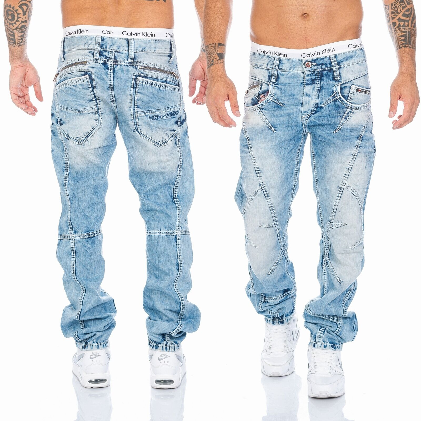 Neu Baxx 33 32 Hose 29 Nähte 894a Herren Jeans Blue 31 Cipoamp; 30 W28 CrdxeBo