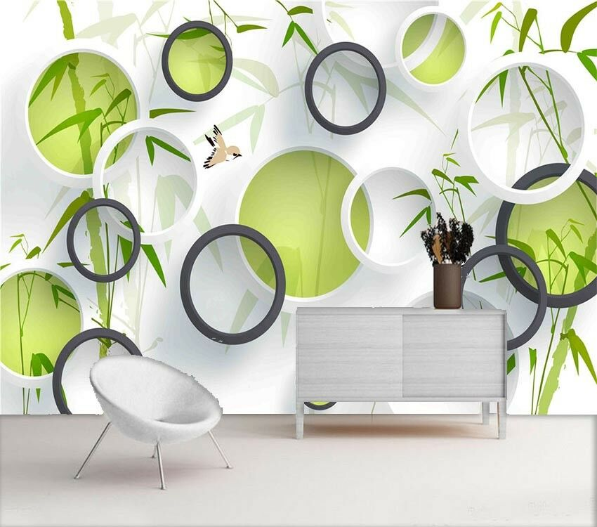 Good Main Circle 3D Full Wall Mural Photo Wallpaper Printing Home Kids Decor