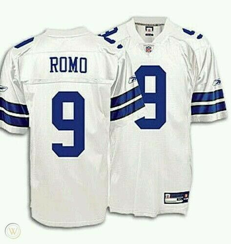 Nfl On Field Football Jersey dallas cowboys tony romo BRAND NEW WITH TAGS LARGE
