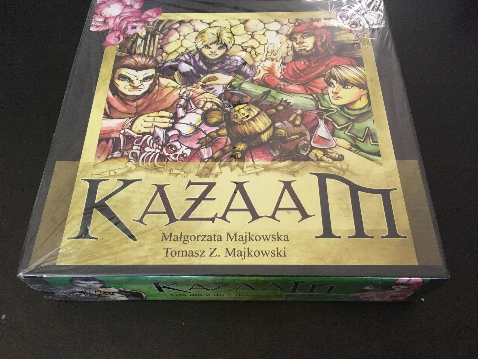 Kazaam Board Game 2008 by Wolf Fang P.H.   Collector