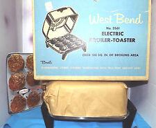 WEST BEND ALUMINUM ** NEW ** Toaster-Broiler Original Box Model #3561