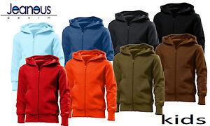 Hanes-Boys-Girls-Hoody-Hooded-Sweatshirt-Designer-Age-5-6-7-8-9-10-11-12