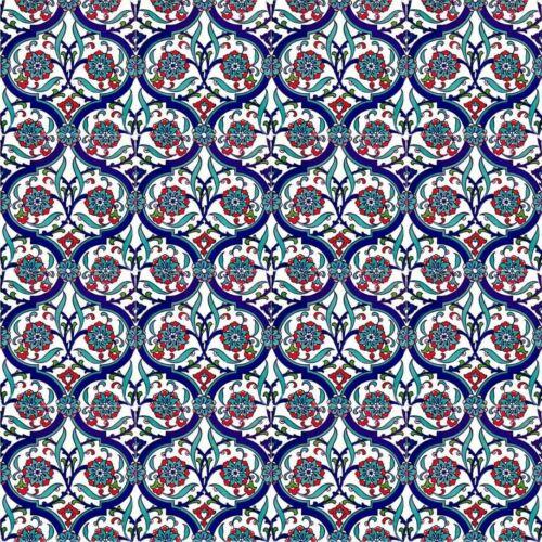 Wandfliesen Für Küche Badezimmer Bunte Iznik Fliesen 20x20 cm Toygar 12 Stück