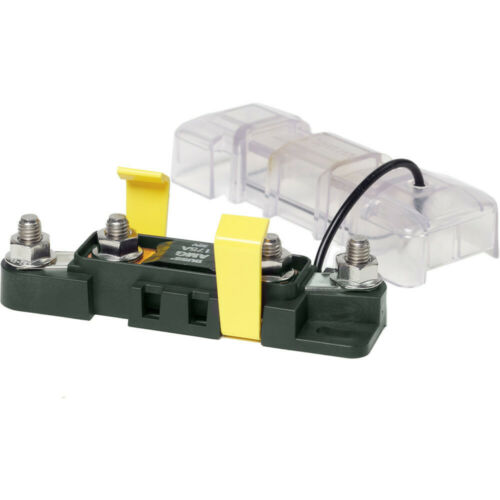 Blue Sea 7721 Mega//AMG Safety Fuse Block Sealed cover protects fuses Boat Marine