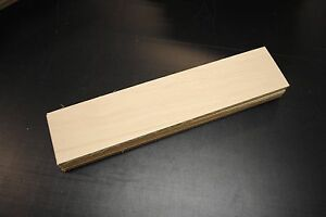 """30 PIECES MAPLE THIN BOARDS LUMBER WOOD 1/8"""" X 2-1/2"""" X 12-1/2"""""""