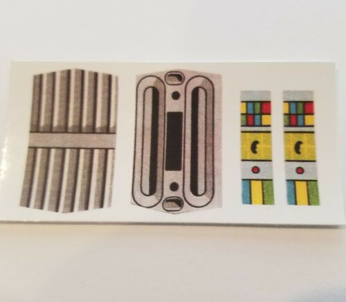 No Need To Cut Vintage Star Wars Replacement Cloud Car Stickers Peel /& Stick