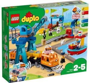Lego Duplo - Le Train De Marchandises 10875 Jeu Construction