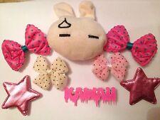Fairy Kei Starter Pack Kit De Accesorios Cabello Moño Clip Kawaii Star Lolita Bunny