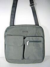 Baggallini Canyon Bagg Crossbody Bag Purse Travel Organizer Gray New NWT