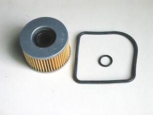 Honda-CB-400-N-CM-400-T-Olfilter-mit-O-Ringen-Neu