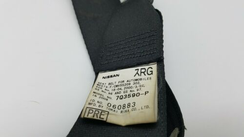 INFINITI G25 G35 G37 SEDAN FRONT RIGHT SEAT BELT RETRACTOR W//ADJUSTER #A2023