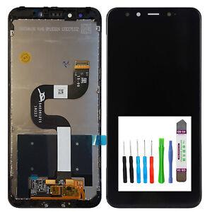 Original Xiaomi Mi A2 LCD Bildschirm TouchScreen Schwarz Display + Rahmen