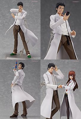 New Max Factory figma 196 Steins;Gate Rintarou Okabe PVC Action Figure Japan