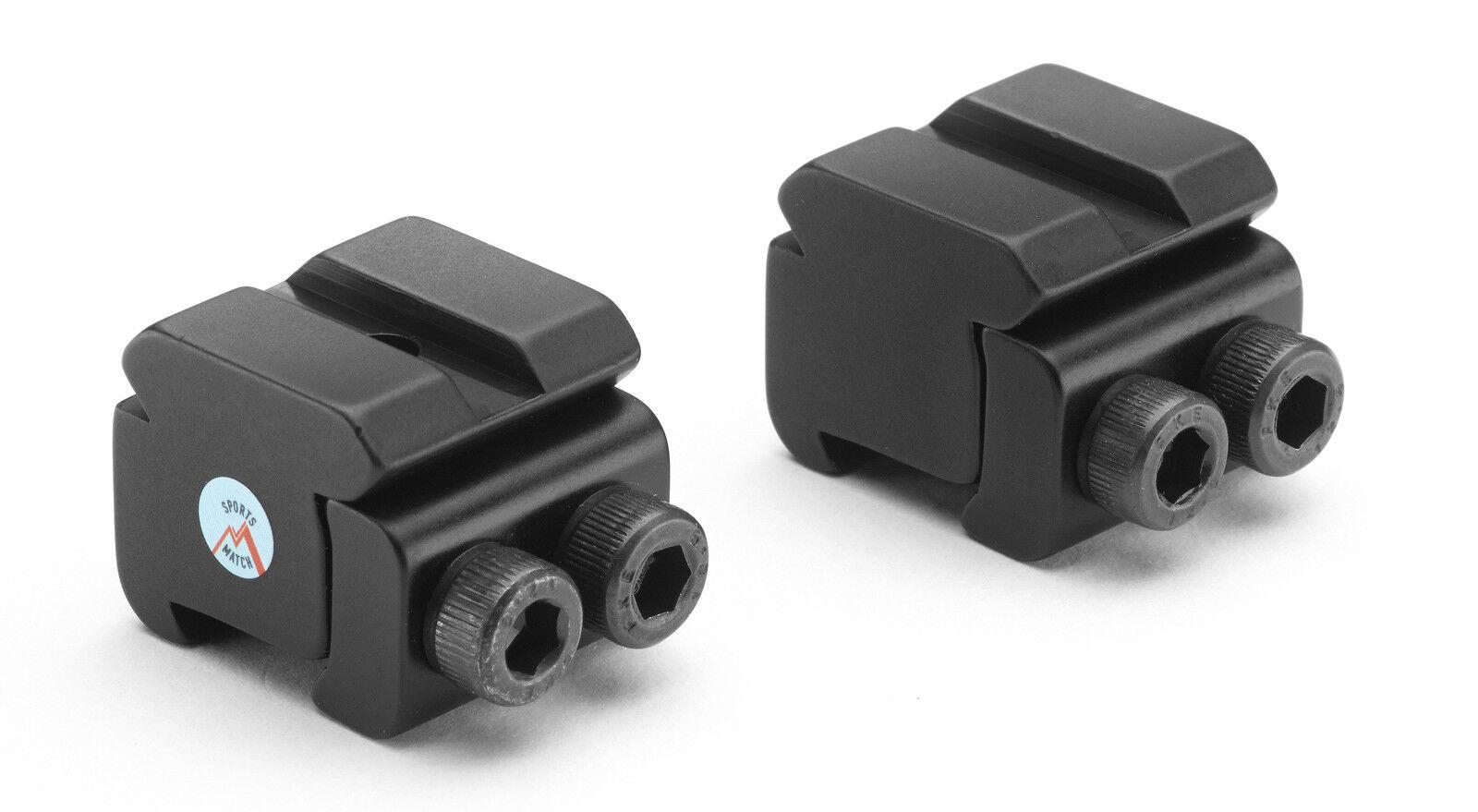 SPORTSMATCH RB5 9.5mm - Weaver   Picatinny Scope Rail Adapt.for Night Sights etc