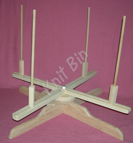 Hand Crafted Table-Top Yarn Swift Choose from 2 Models