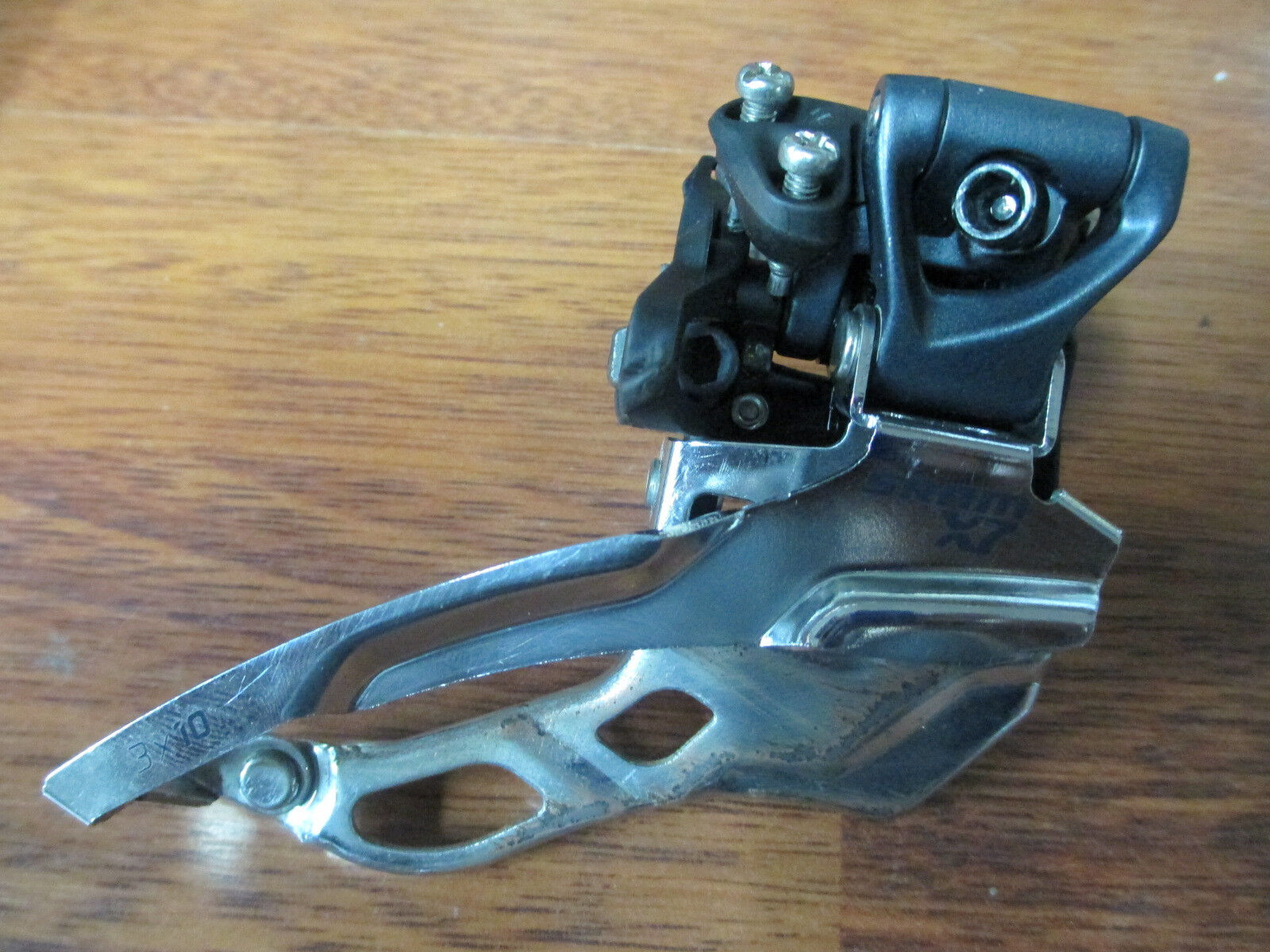 SRAM X7  DUAL PULL 34.9 HIGH CLAMP ON  10 SPEED TRIPLE 3 x10 FRONT DERAILLEUR  hot