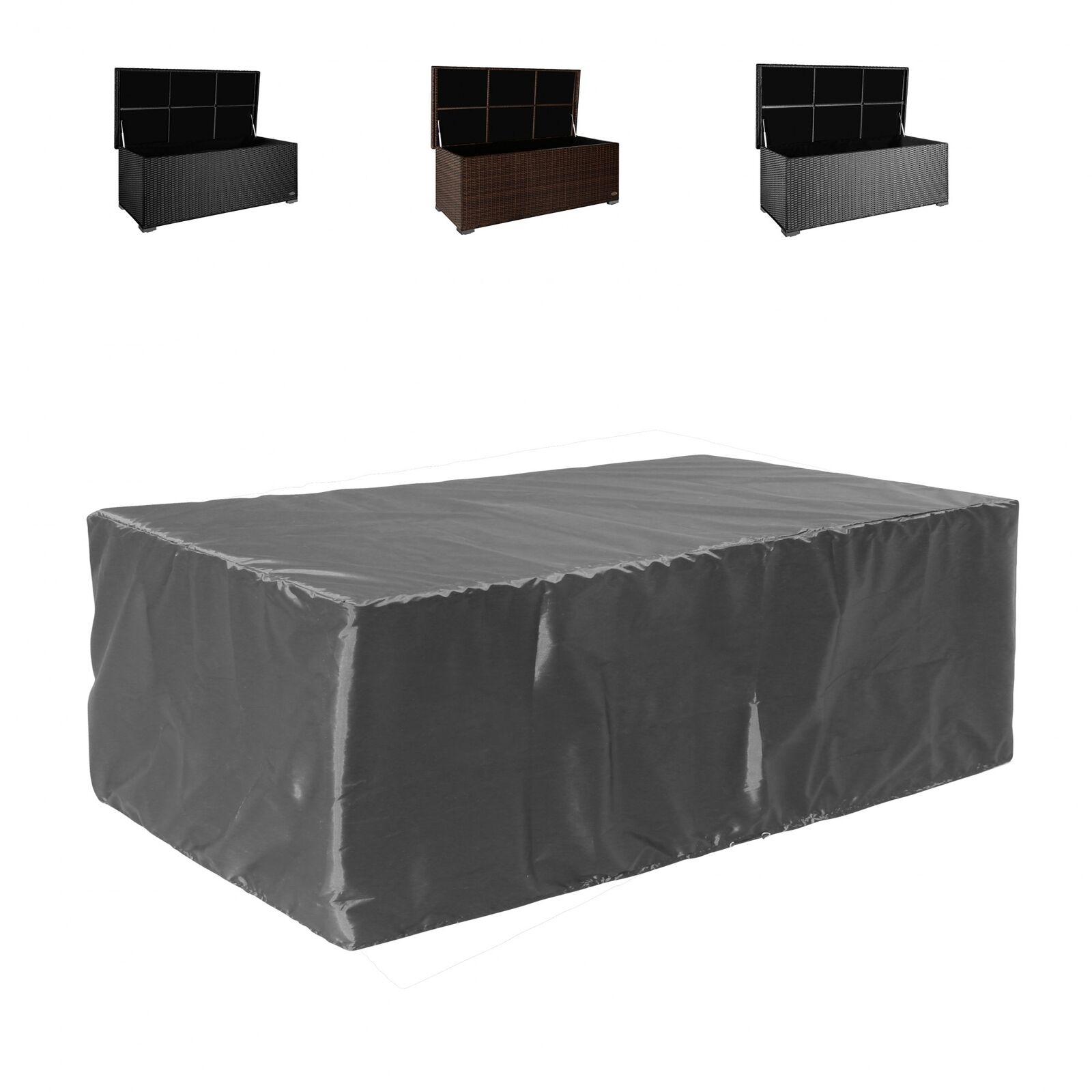 Funda projoectora cubierta baúl para sentarse tumbona silla tumbona arcón cubierta