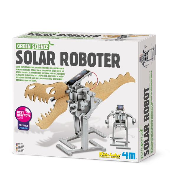 Green Science - Solarroboter - Experimentierkasten 4M MINT