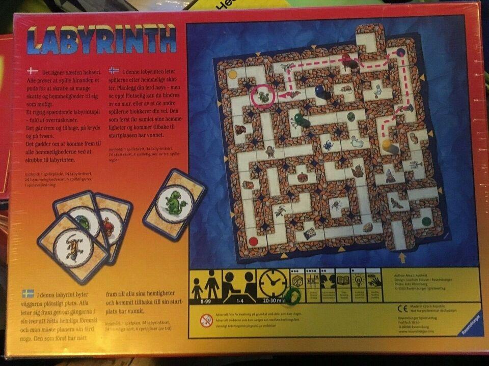 SOLGT.Junior Labyrinth, SOLGT. Børnespil, brætspil