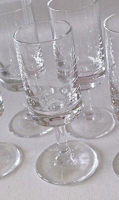 Herzhaft 1 Schnaps Glas Likör Glas Wiesenthalhütte Kiruna 60er 70er Vintage Duftendes (In) Aroma