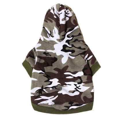 dog clothes t shirt tee Sweatshirt Camouflage Coats Hoodies dogs pets clothing