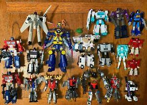 Transformers War for Cybertron Lot - Loose - Volcanicus - Ectotron - Gigawatt