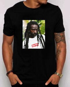 Supreme Buju Banton Tee Navy S M L Xl 2xl 3xl Ss19 T-Shirt Us Size