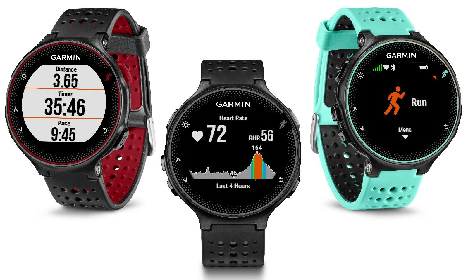 Garmin Forerunner 235 010-03717 GPS Running Watch with Wrist-based Heart Rate
