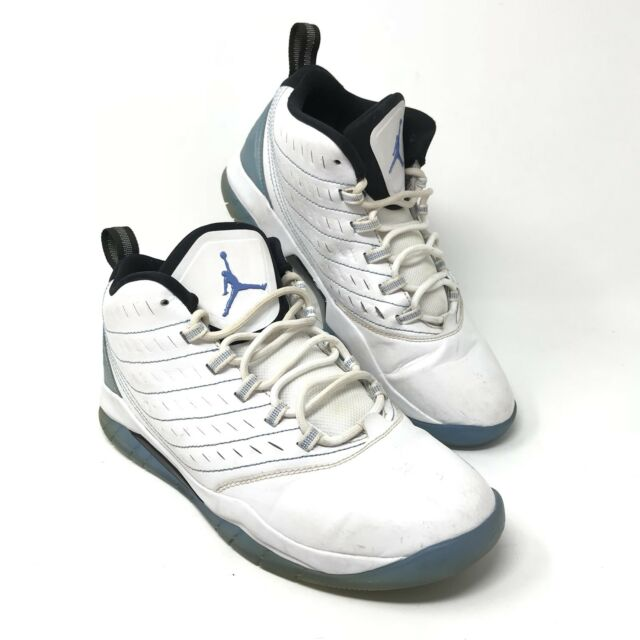 super popular a4c1e bad3a Nike Air Jordan Mens 7.5 Velocity Shoes White Legend Blue Black 688975-117