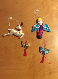 Christmas ornaments made in China satin X18 | eBay