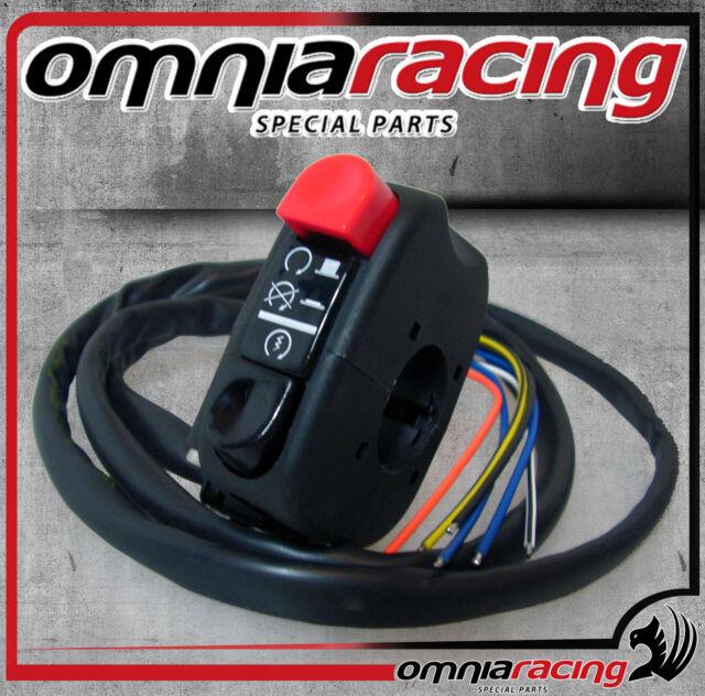 Interruttore Domino dispositivo avviamento/arresto motore On/Off universale