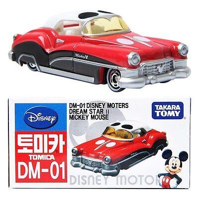 Tomica Disney Motors DM-01 Mickey Mouse Dream Star Diecast Car Tomy RARE